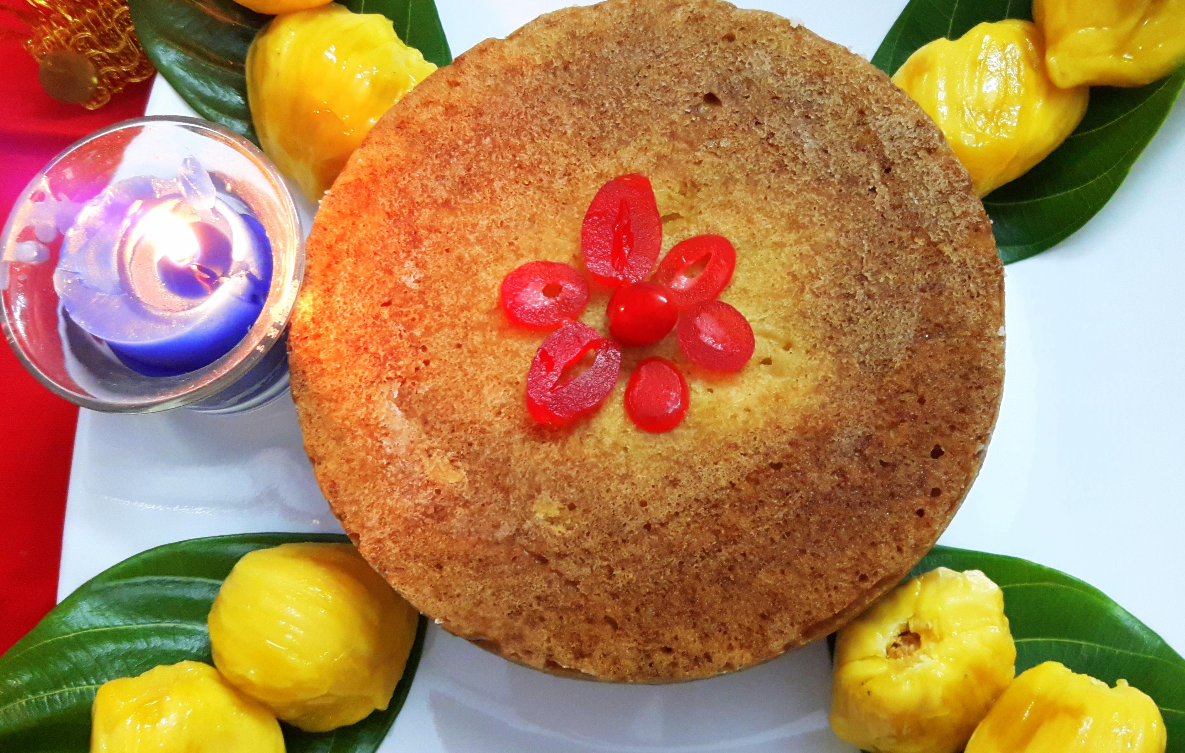 Jackfruit Sooji cake