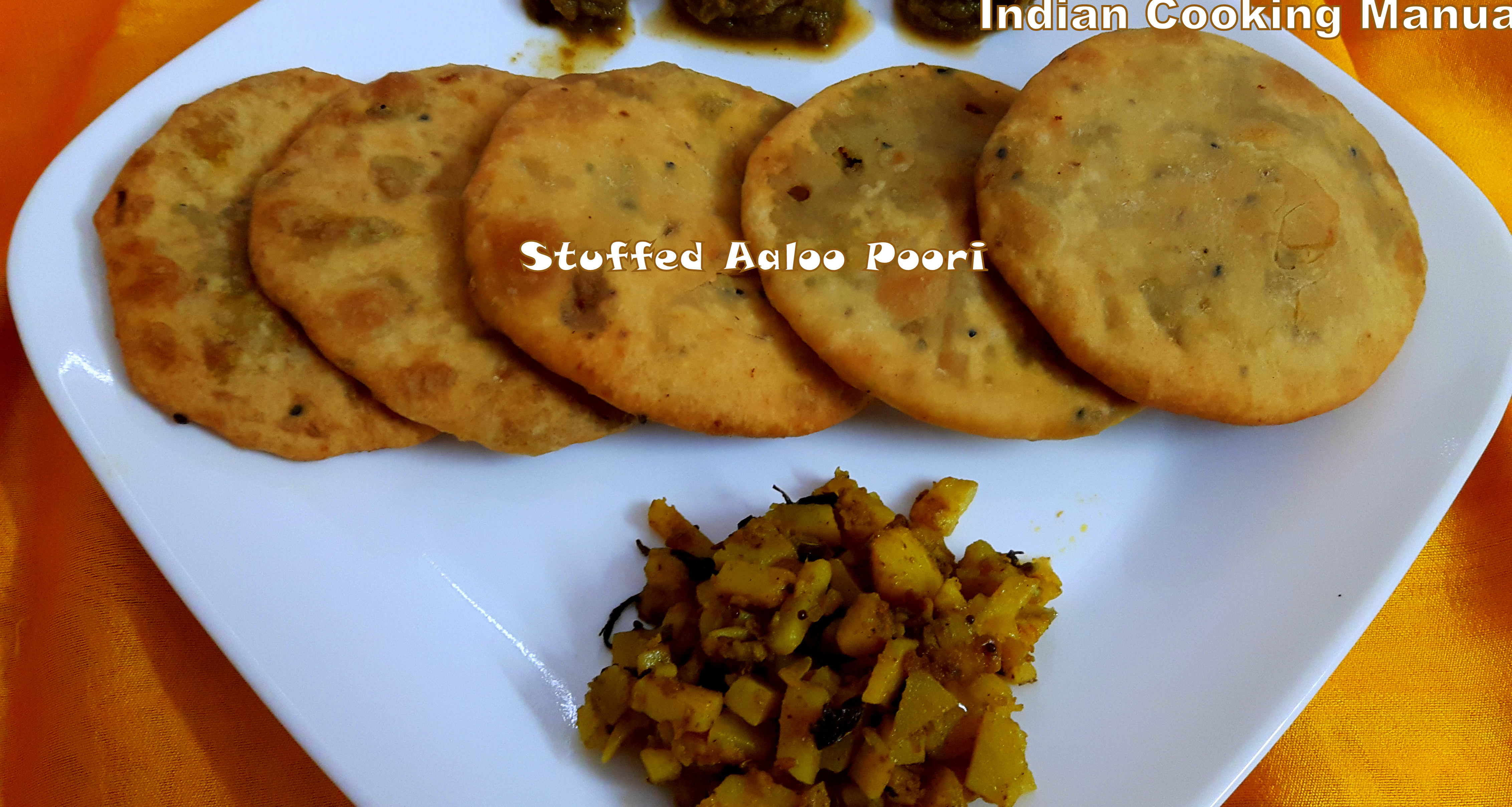 Stuffed Aaloo Poori