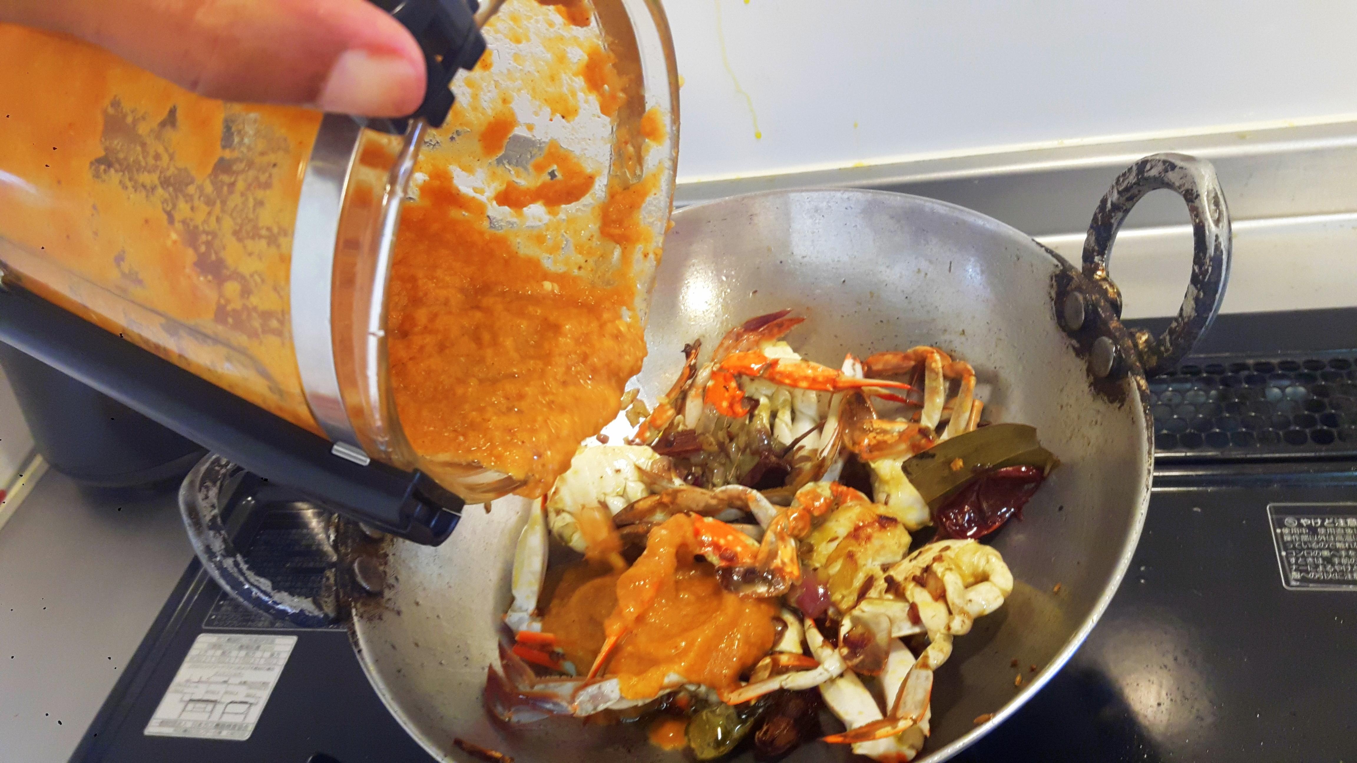 add masala paste