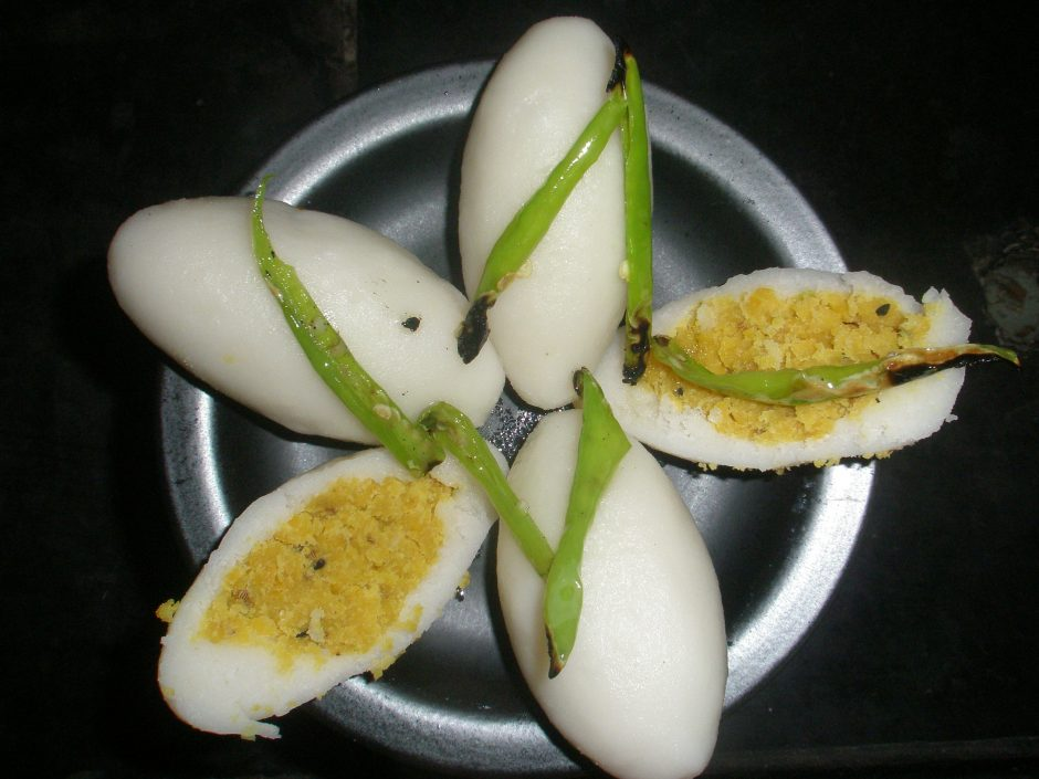 pittha traditional bihari dumpling